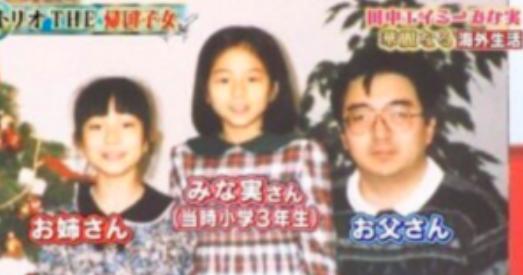 田中みな実の父親と姉