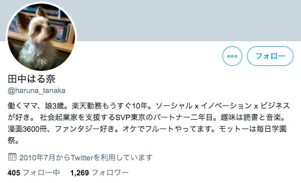 田中みな実の姉のtwitter