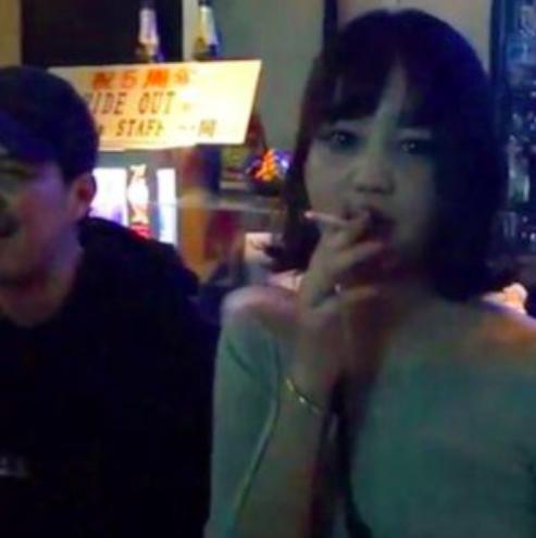 NANAMI(堀北真希の妹)タバコ喫煙写真