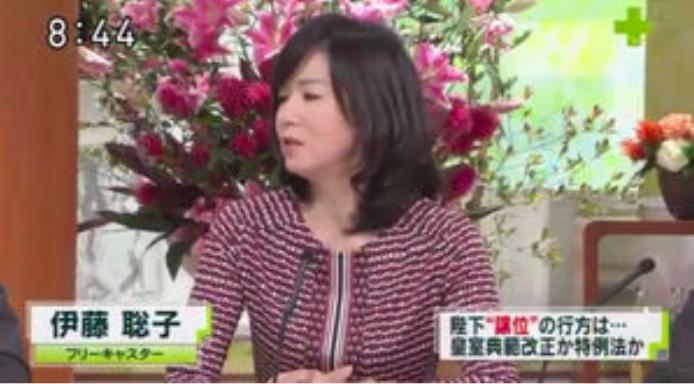 伊藤聡子(TV出演時)