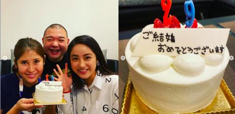 平祐奈が平野紫耀の匂わせをしてると言われるインスタグラム(instagram)の画像・動画(ケーキの文字)