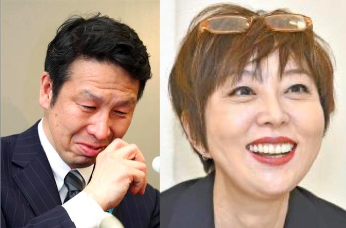 室井佑月の結婚相手は元新潟県知事!売春スキャンダルで辞職の黒歴史あり