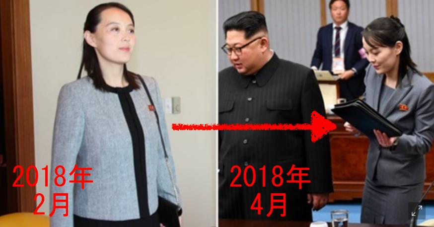 金与正(キムヨジョン)の結婚・妊娠から出産の変化が分かる画像